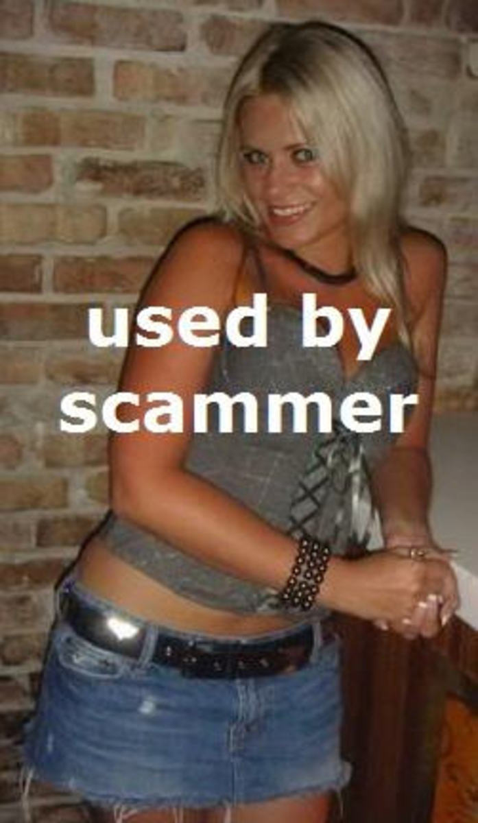 One of many Ann Angel photos sent (without scammer words)saying it was the same person. Really?