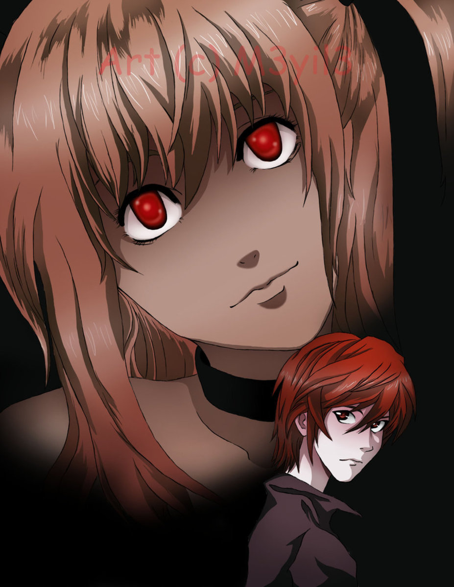 Misa from 'Death Note' is portrayed as somewhat psychotic.