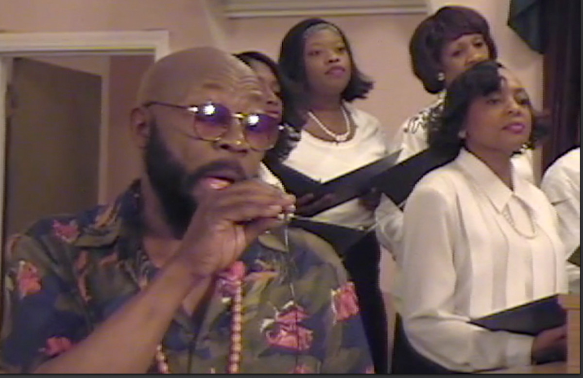Take Me Back to Beale (Book III) portrays Isaac Hayes singing gospel music.