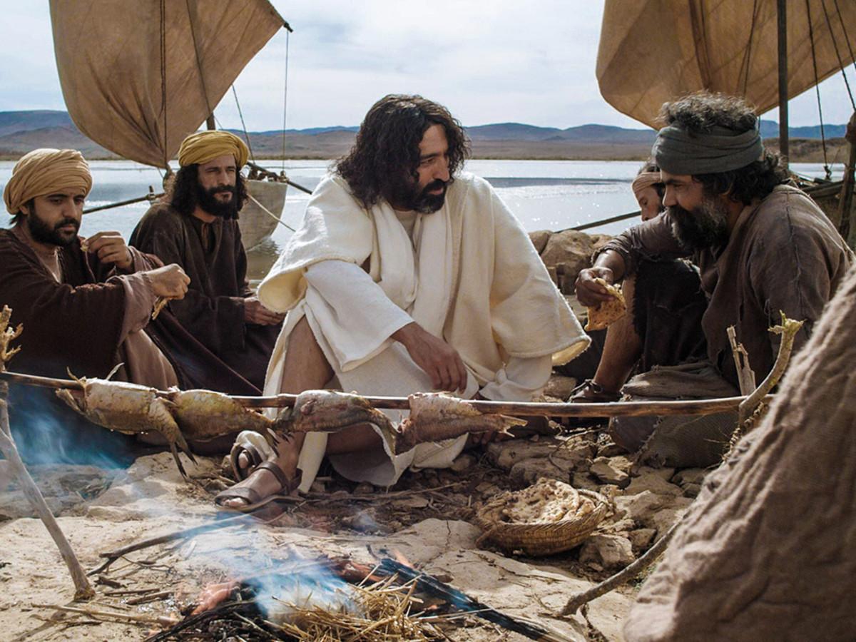 "Jesus said, ""Peter, do you love me?"""