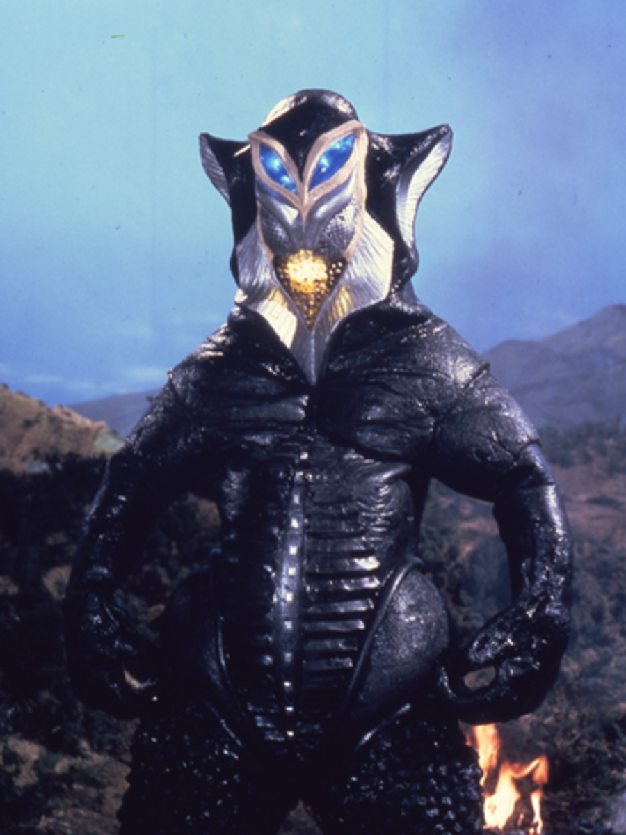 Alien Mephilas: often viewed as Ultraman's arch-rival.