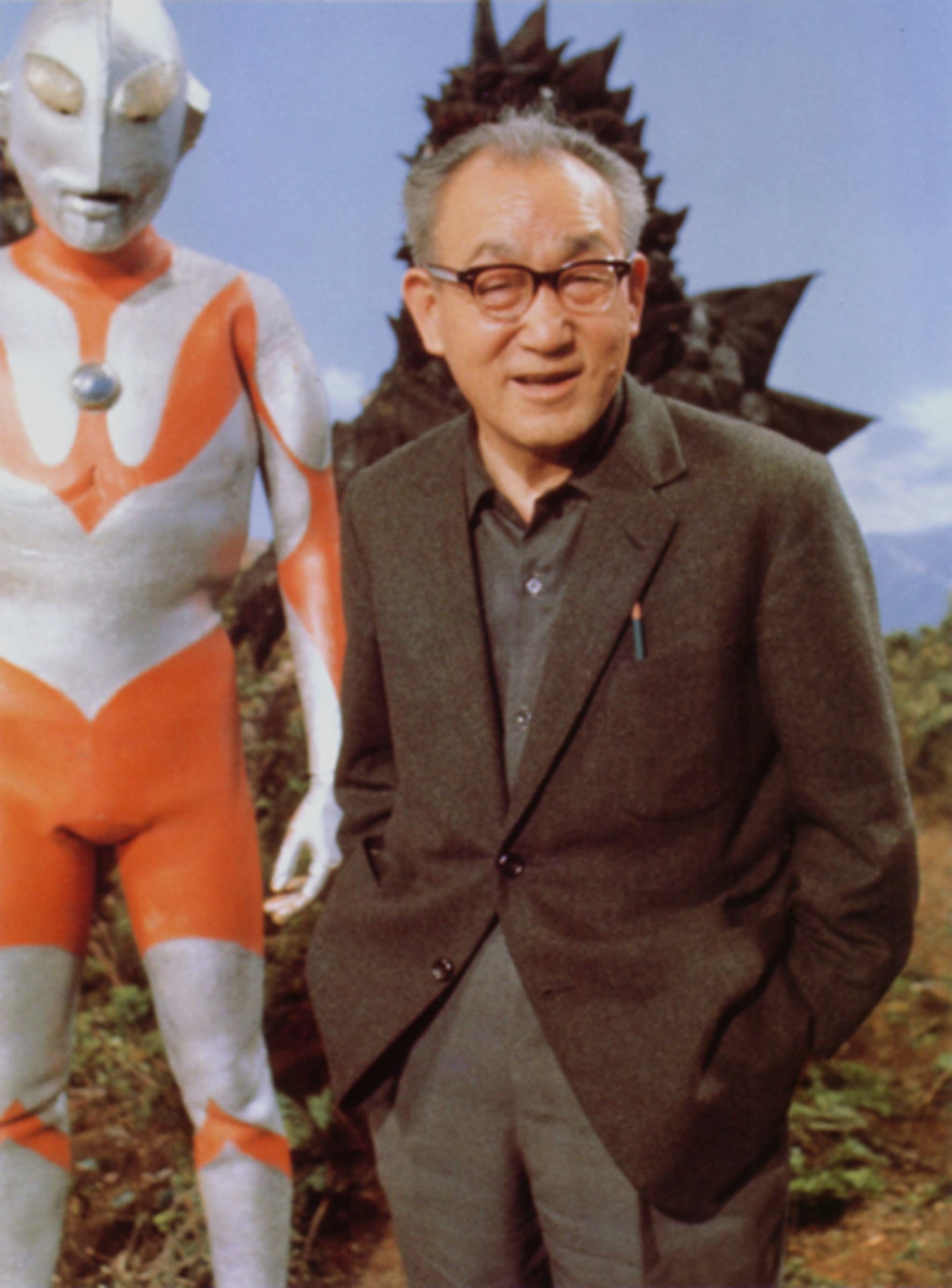 Eiji Tsuburaya: co-creator of Godzilla and creator of Ultraman