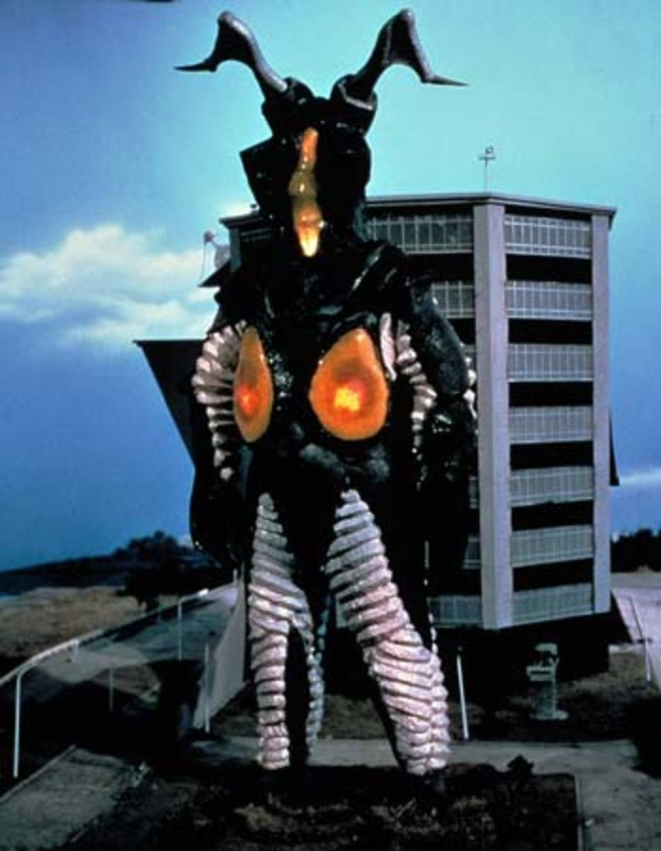 Zetton: final enemy of the series and the only monster with a decisive victory against Ultraman.