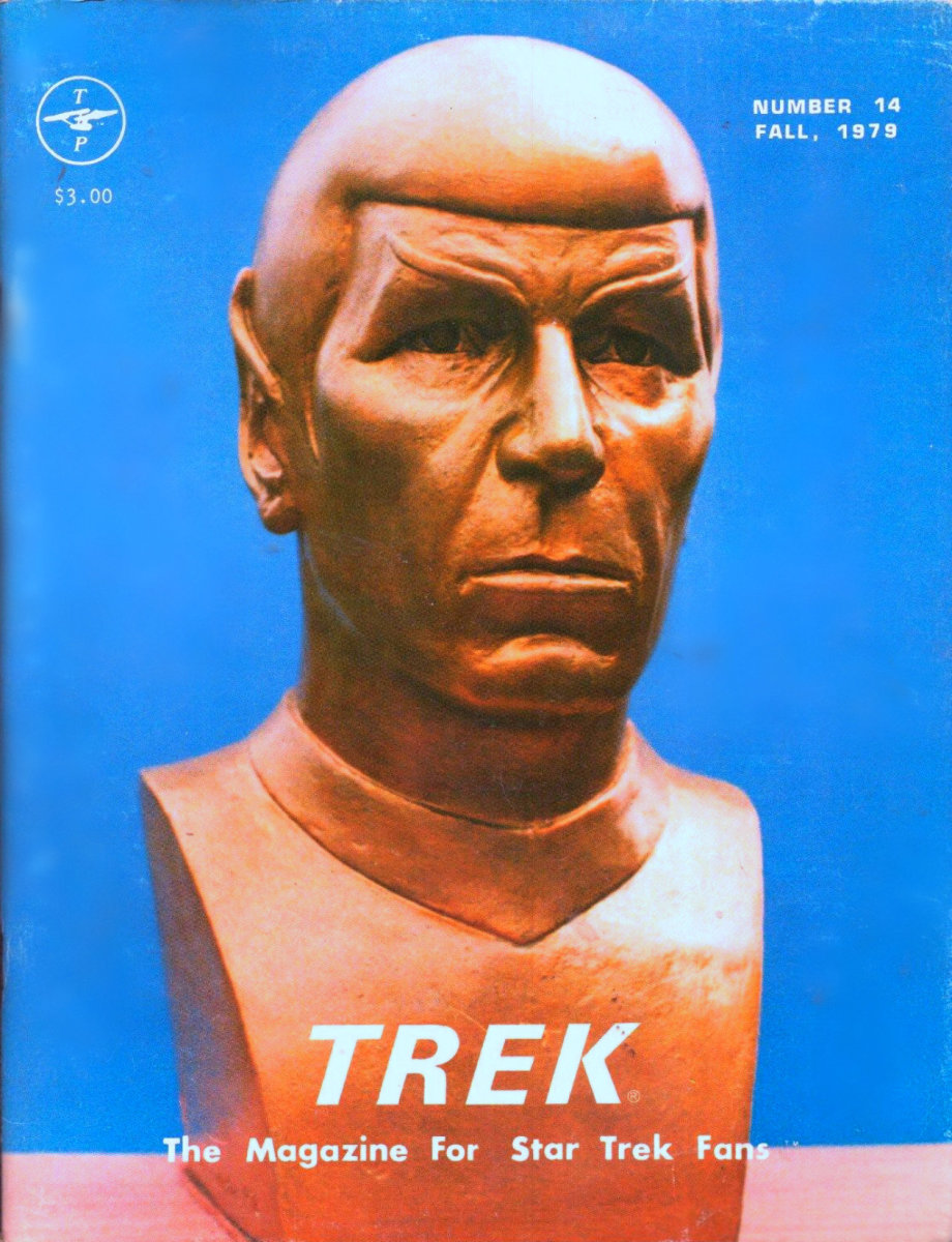 TREK  #14 The Magazine For Star Trek Fans, This one has a  low print run of only 2,000 copies, it had  many great articles on  the women of Star Trek.