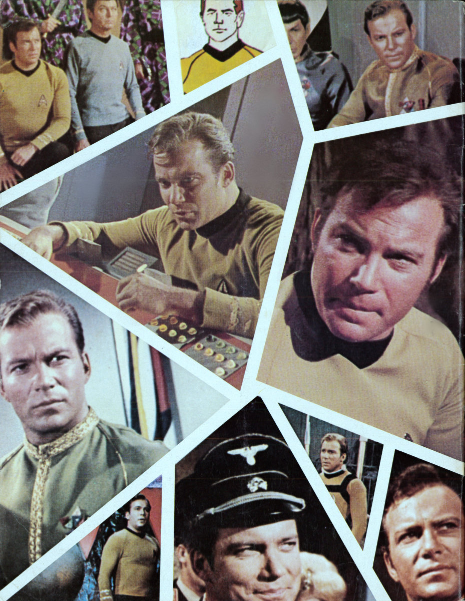The Back Cover of Trek #10 The Special Kirk Issue