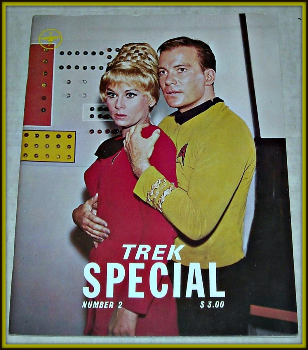 The 1978 TREK The  MAGAZINE for STAR TREK FANS SPECIAL #2 with 48 pages, black and white  illustrations, and photos, wonderful features, great articles, and awesome reviews, interviews and more.