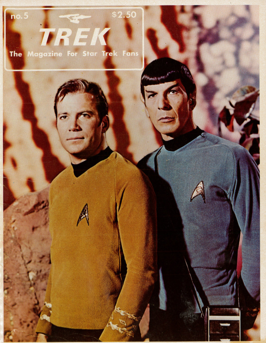 Trek, The Magazine for Star Trek Fans, number five was published July 1976. This wonderful magazine was published bi-monthly by G. B. Love and Walter Irwin at 2500 Pennington, Houston Texas.