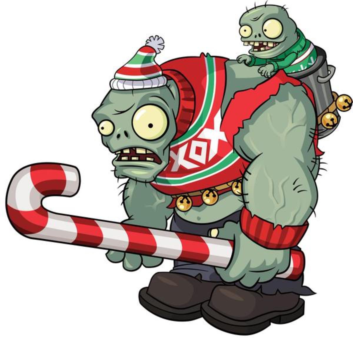 Zombie Gargantuar (Christmas)