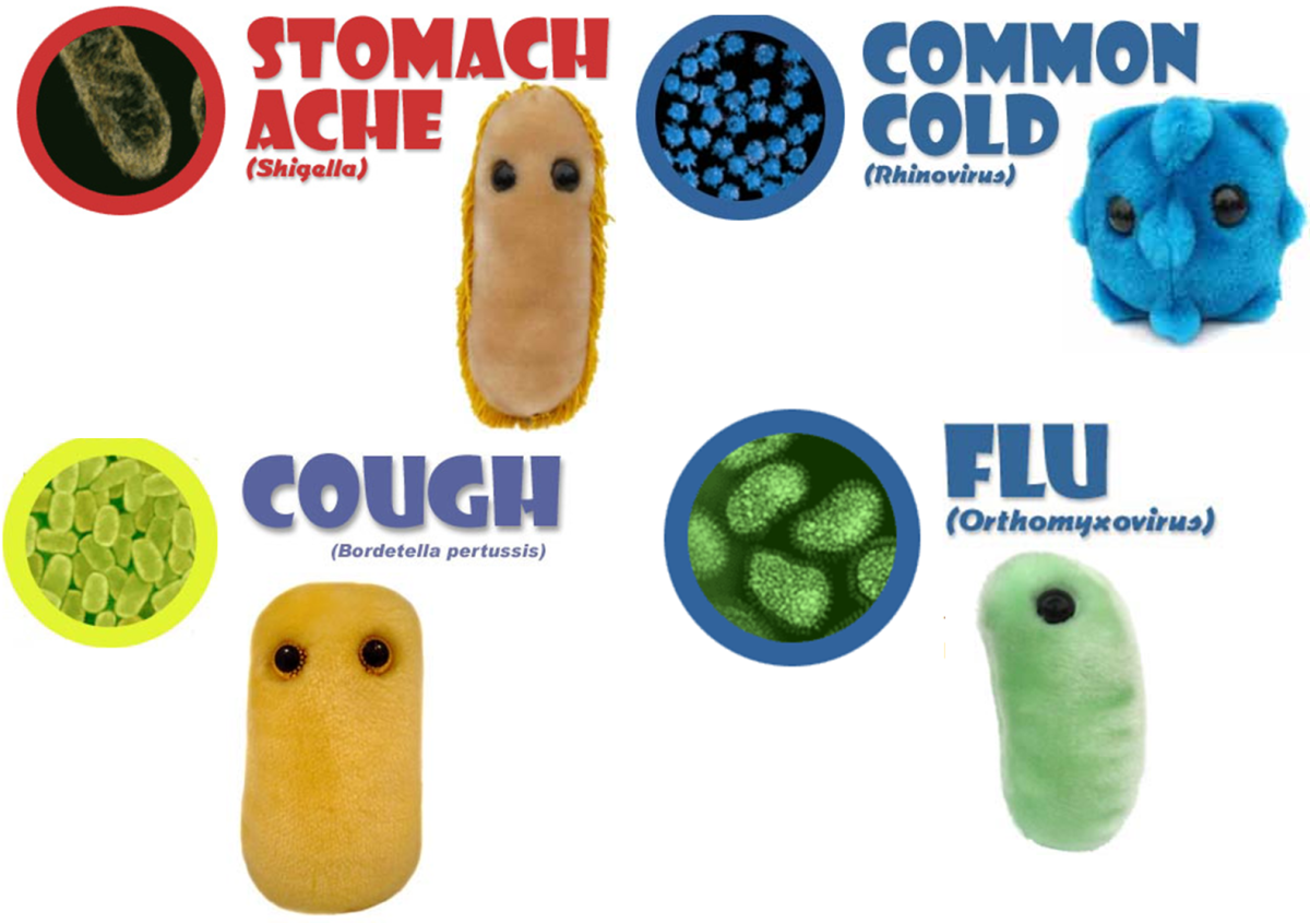 Diseases caused by microbes