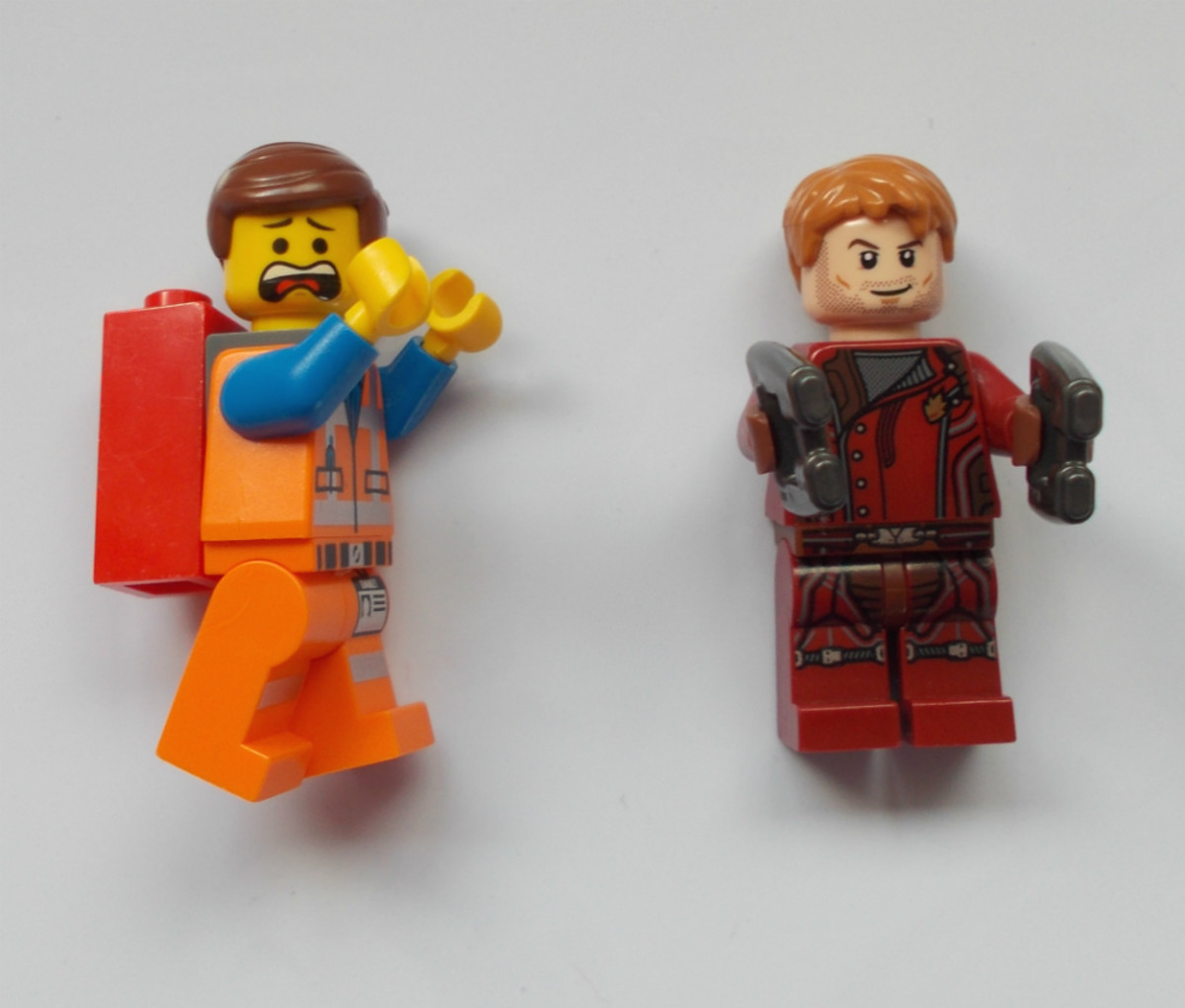 Chris Pratt is in minifigure form as both Emmet and Star-Lord, and has at least one more minifigure on the way.