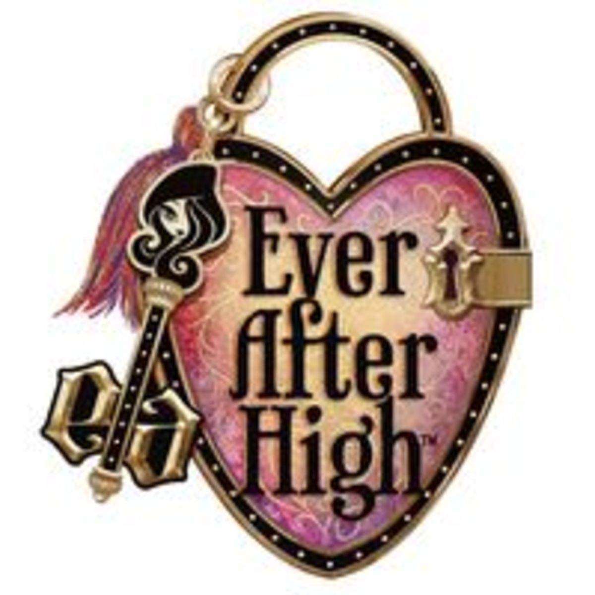 The main logo of Ever After High.