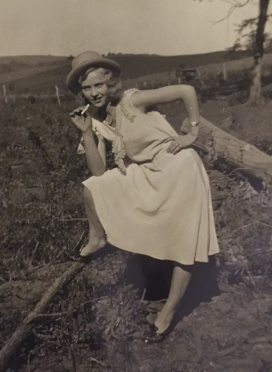 Agnes, the wild child.