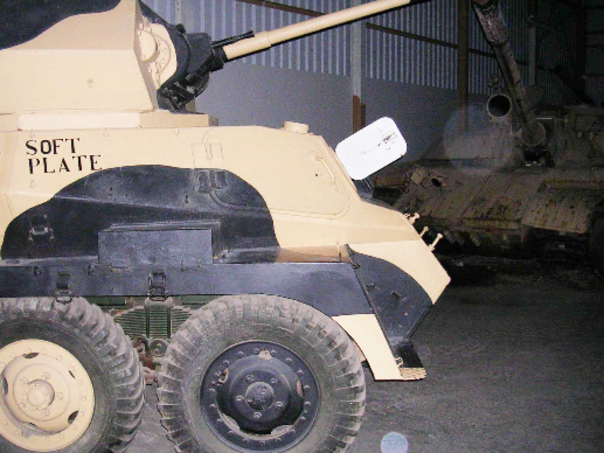 Some believe that the orbs appearing in photographs are proof of spirits at The Tank Museum.