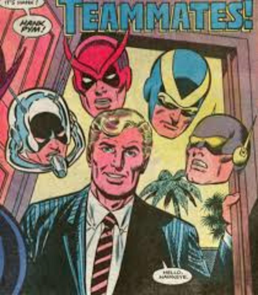 Hank Pym with all of his personalities