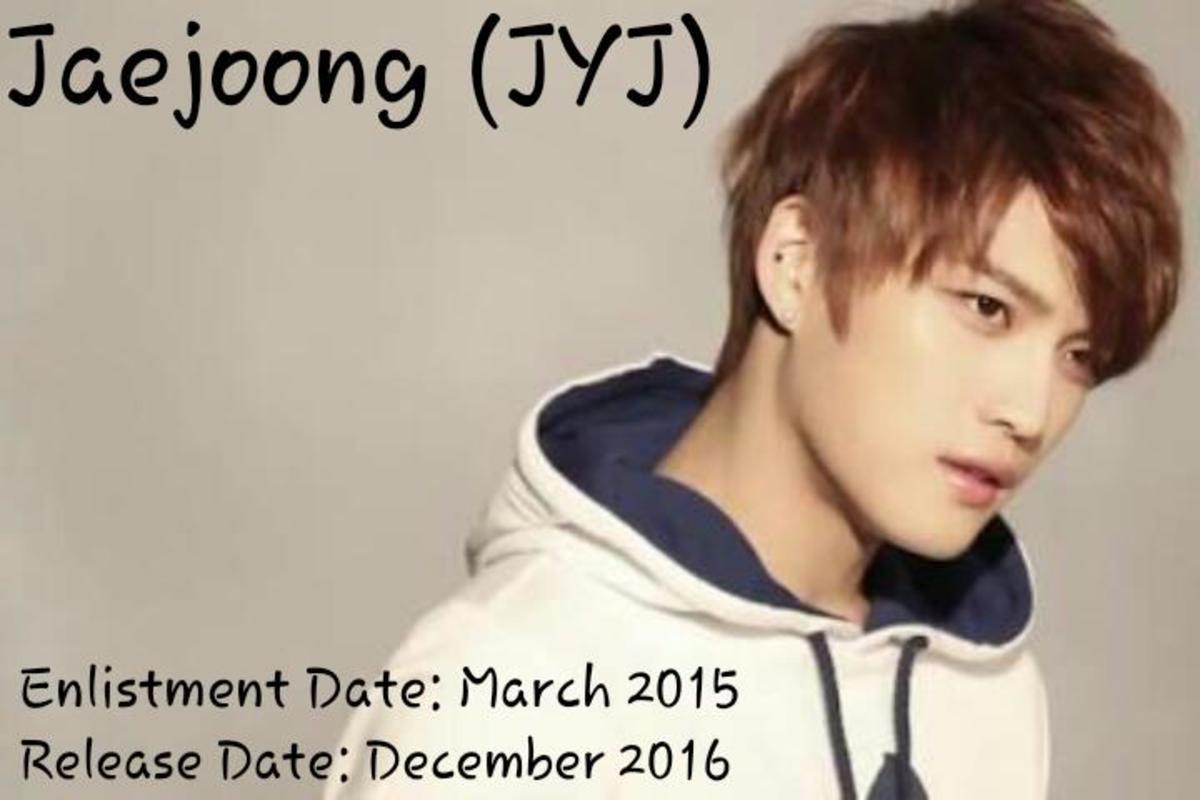 Jaejoong of JYJ