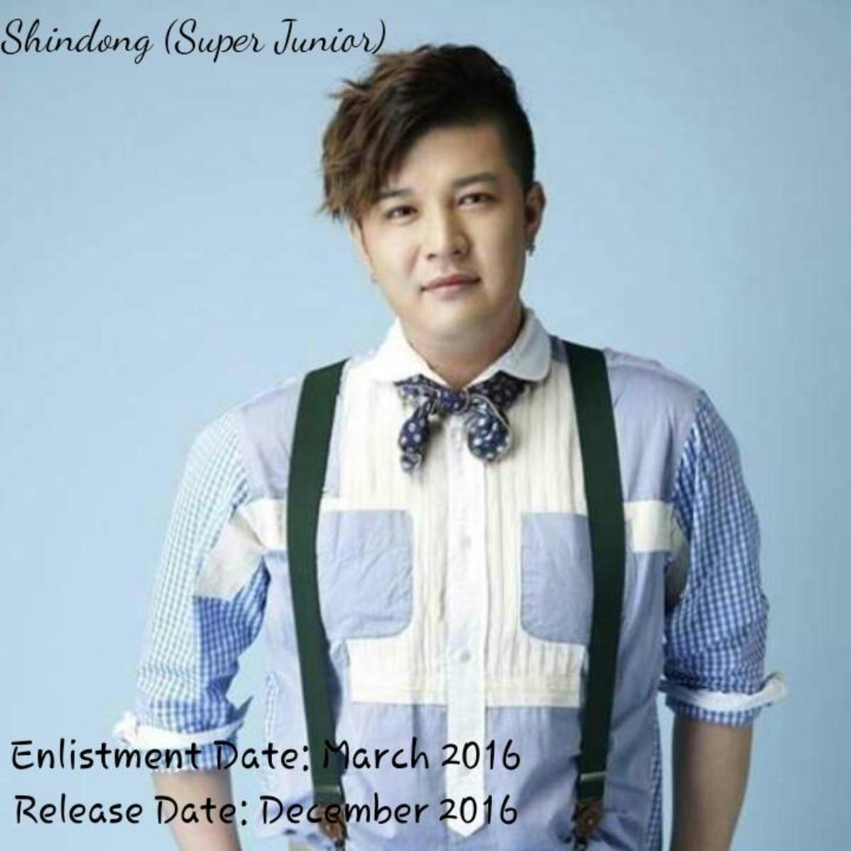 Shindong of Super Junior