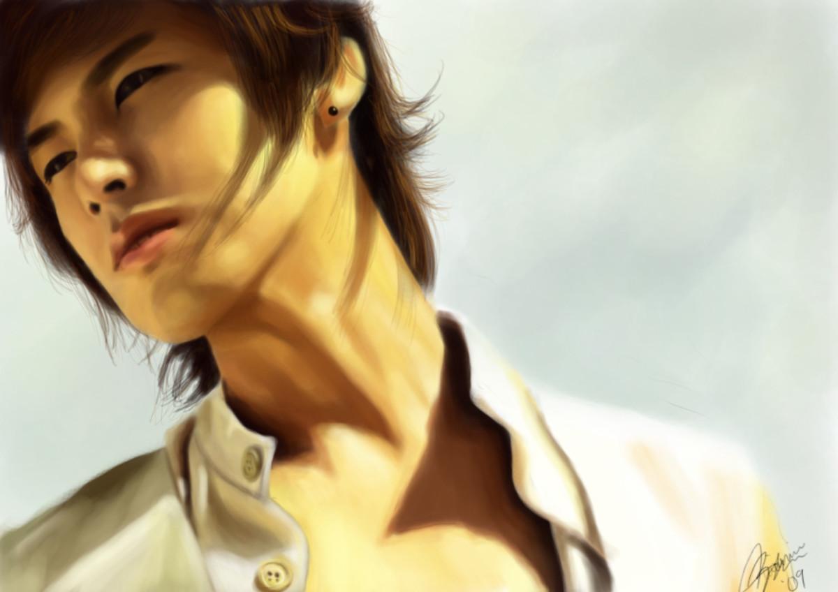 A fanart of Jung Yunho