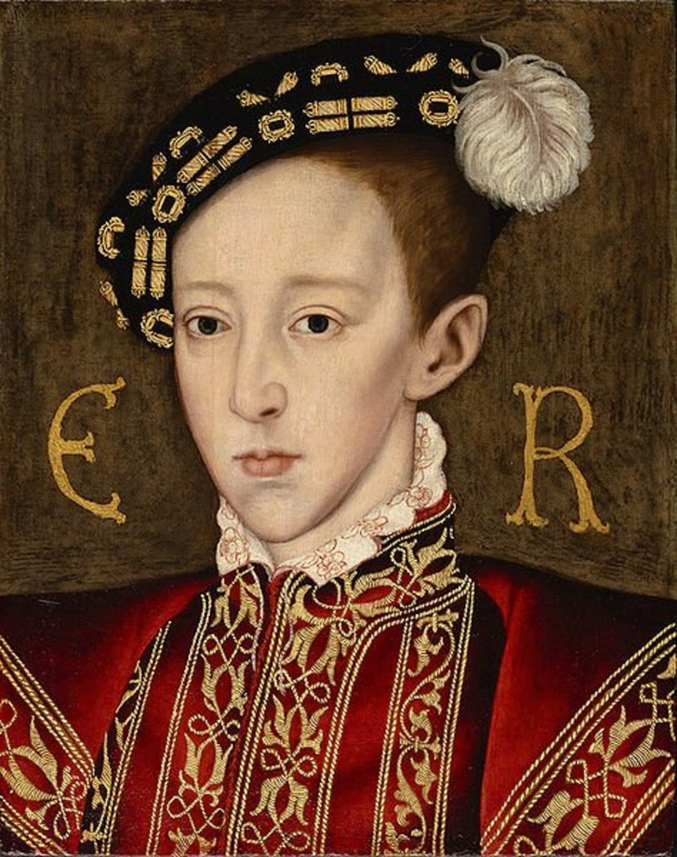 Edward VI shares the same nose, ears, and eyes as Henry Carey and Elizabeth I, compare features and decide for yourself