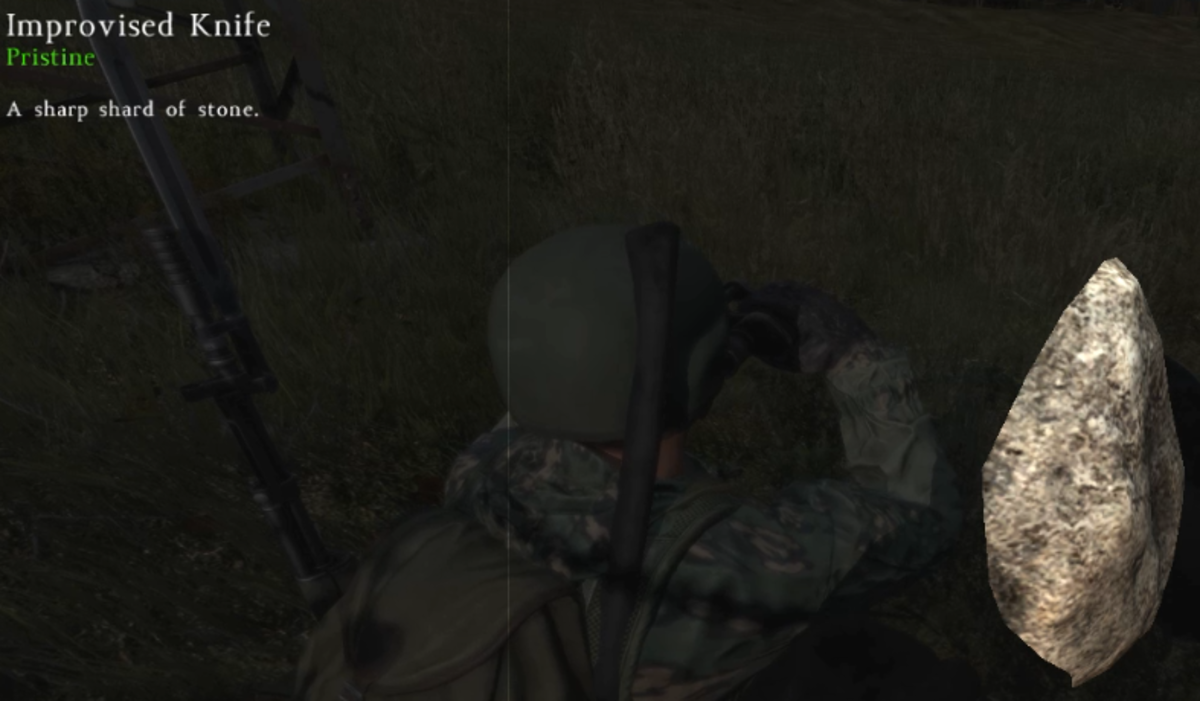 Craft a Stone Knife in DayZ Standalone