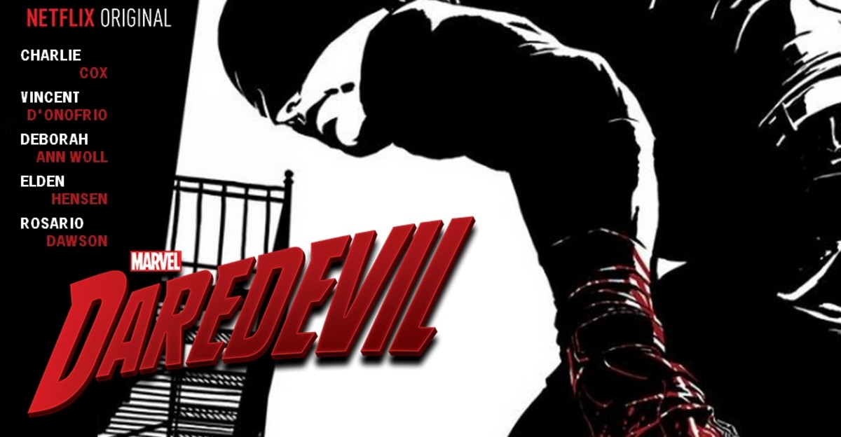 Promotional art for Daredevil