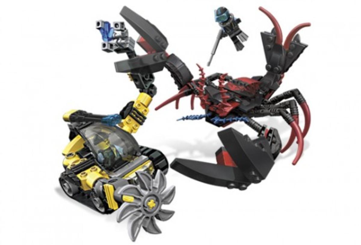 LEGO Aqua Raiders Lobster Strike 7772 Assembled