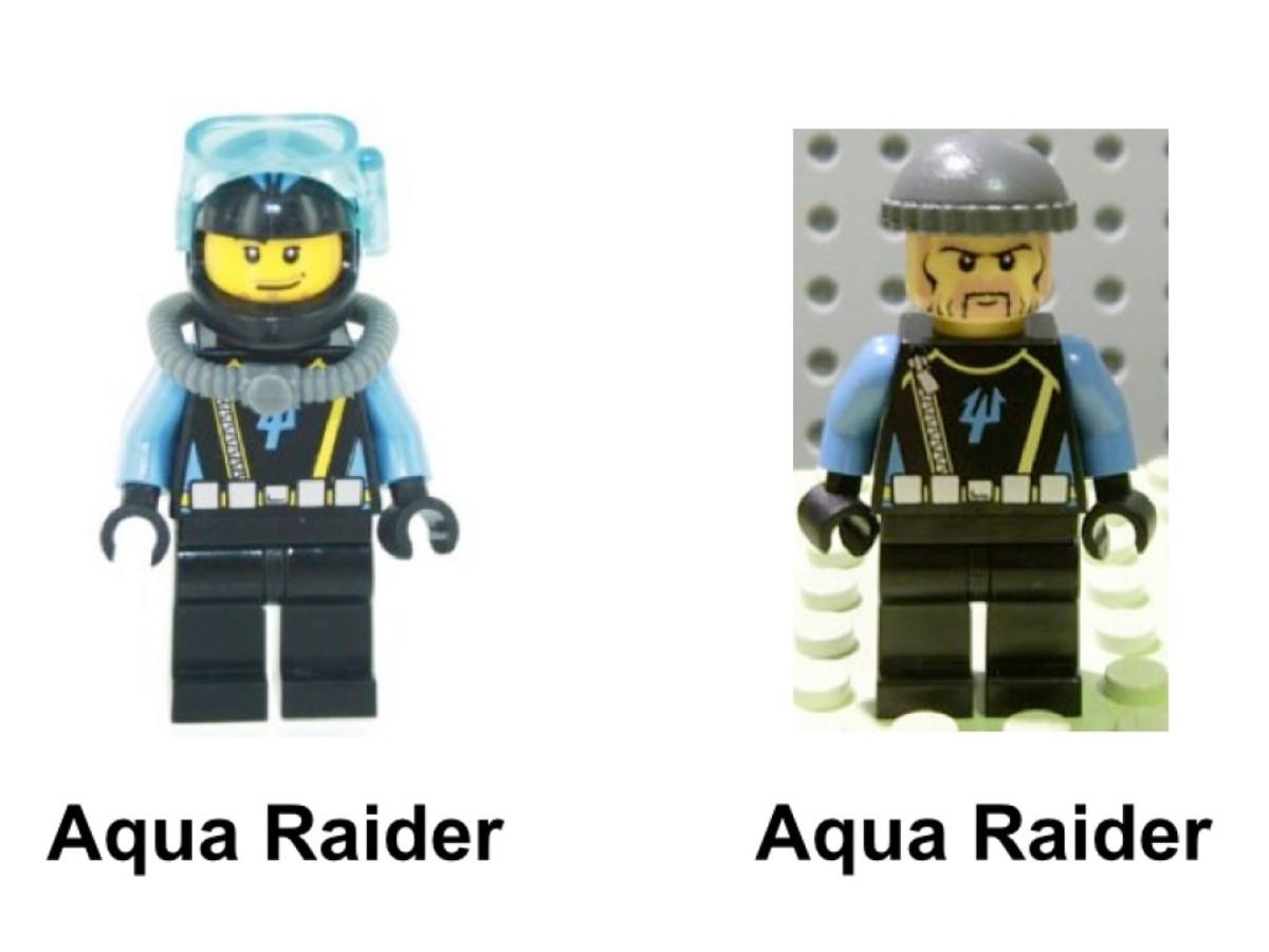 LEGO Aqua Raiders Angler Ambush 7771 Minifigures