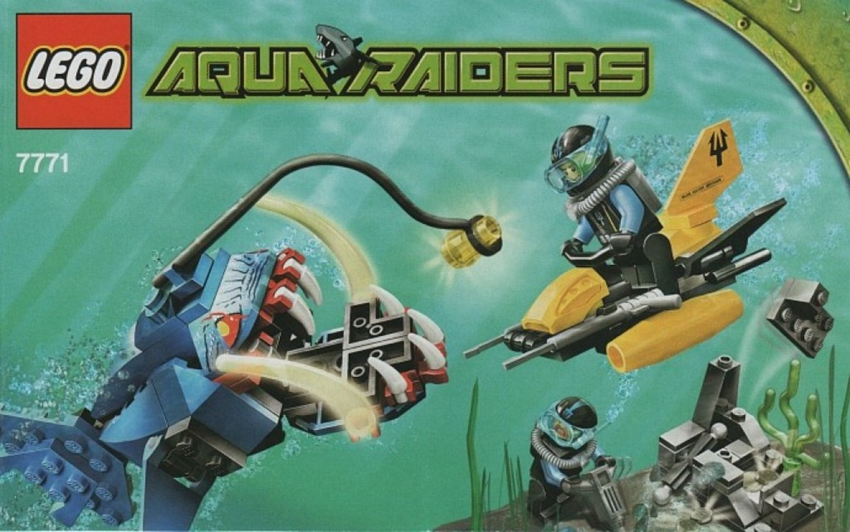 LEGO Aqua Raiders Angler Ambush 7771 Box