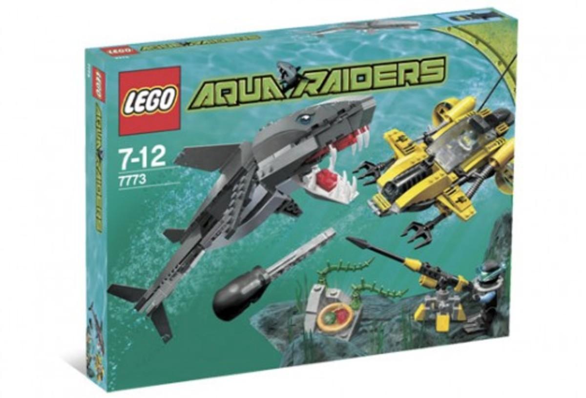 LEGO Aqua Raiders Tiger Shark Attack 7773 Box