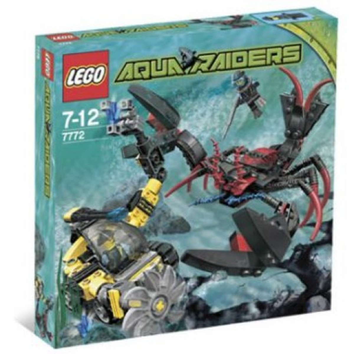 LEGO Aqua Raiders Lobster Strike 7772 Box