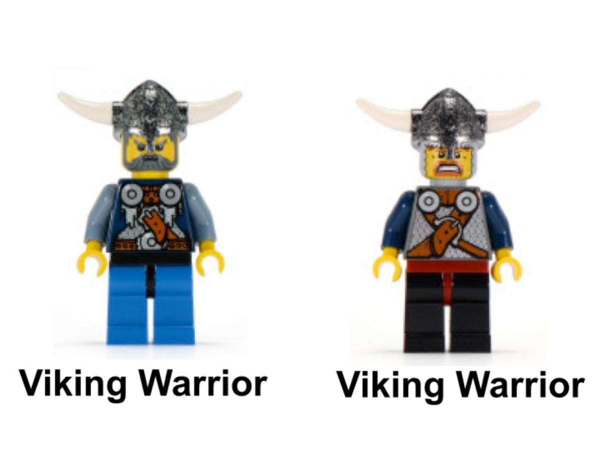 LEGO Vikings Viking Catapult Versus The Nidhogg Dragon 7017 Minifigure