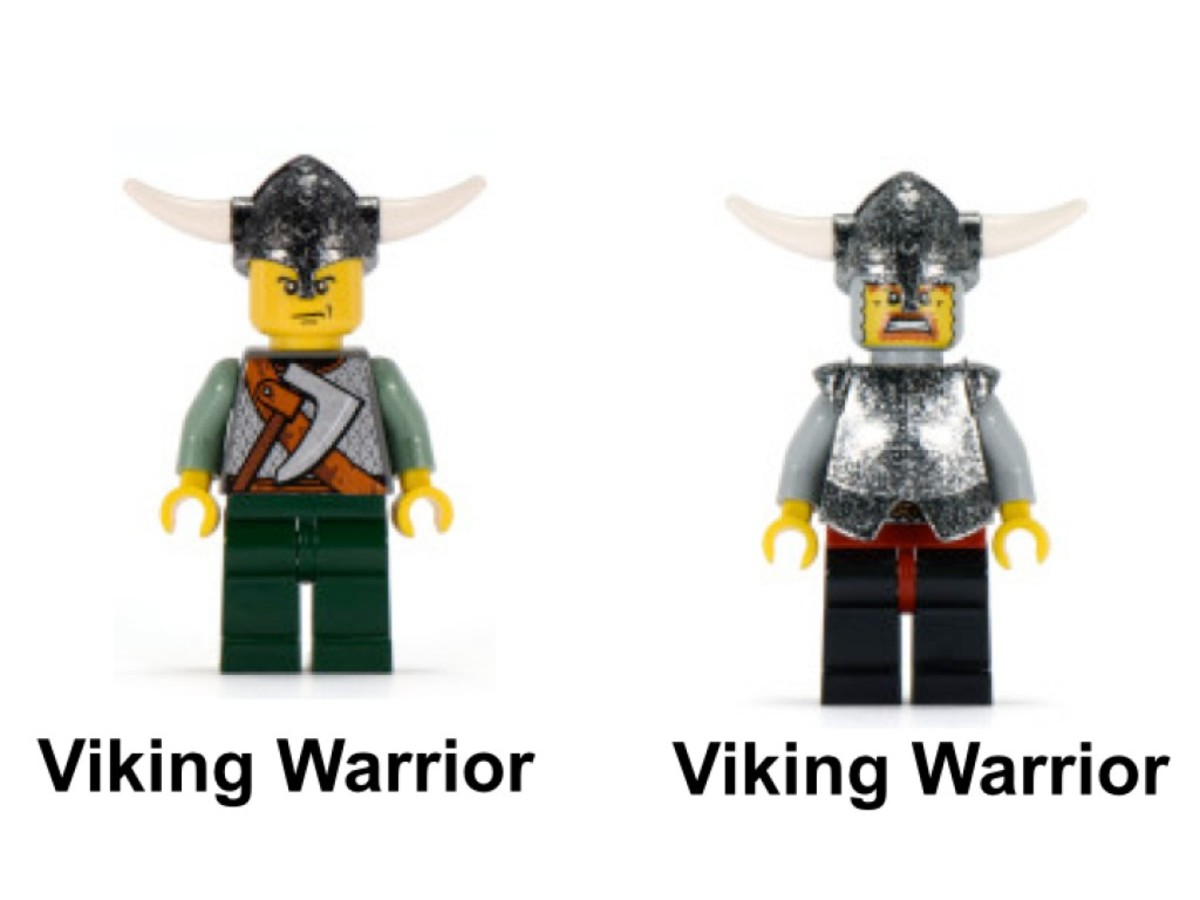LEGO Vikings Viking Boat Against The Wyvern Dragon 7016 Minifigures