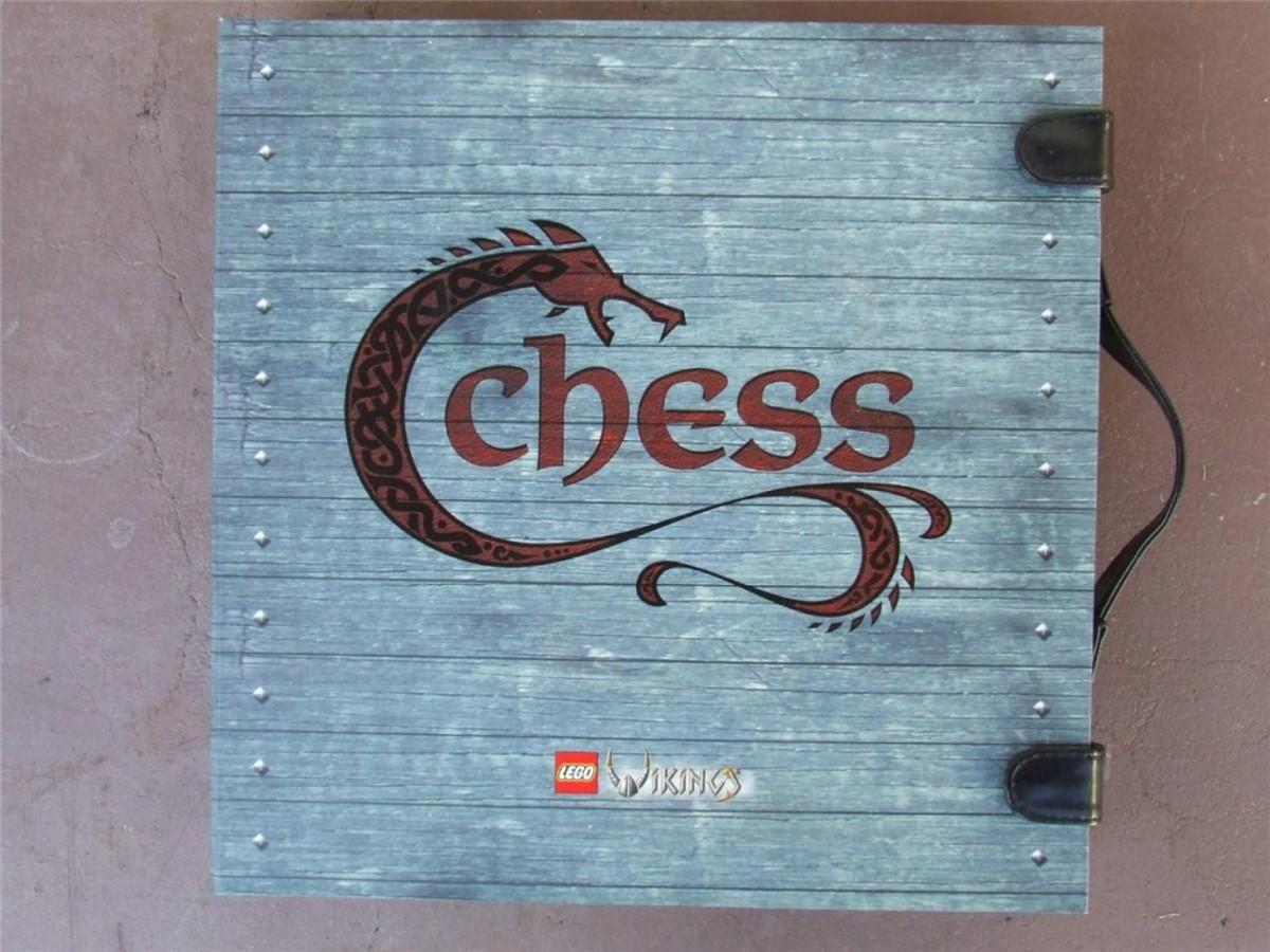 LEGO Viking Chess Set G577 Box