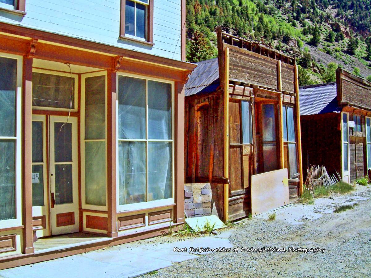 Colorado Semi-Ghost Town....Silver Plume a town with a ghostly tale and a modern mystery with a twist