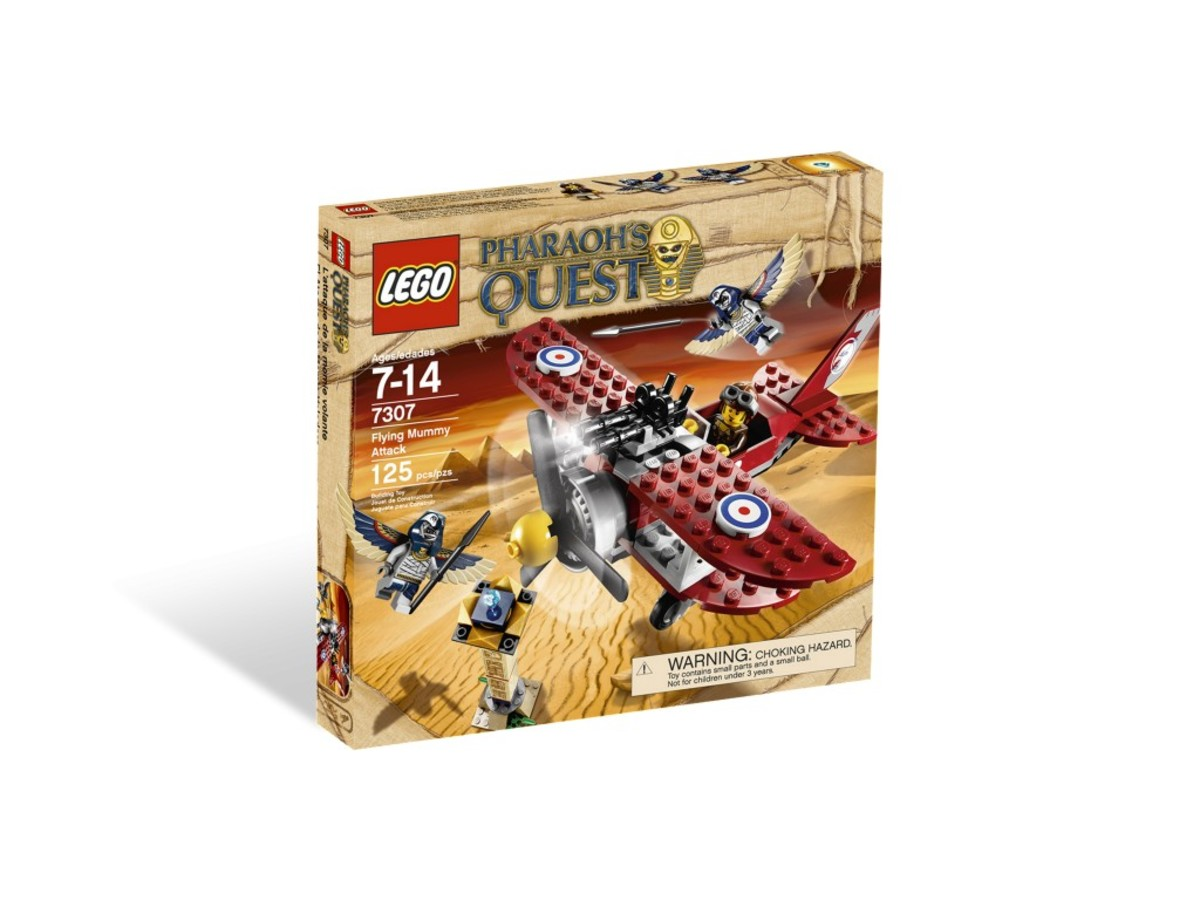 LEGO Pharaoh's Quest Flying Mummy Attack 7303 Box