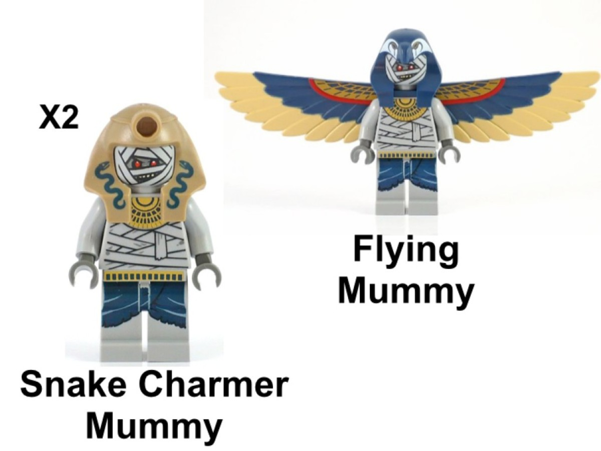 LEGO Pharaoh's Quest Skeleton Mummy Battle Pack 853176 Minifigures