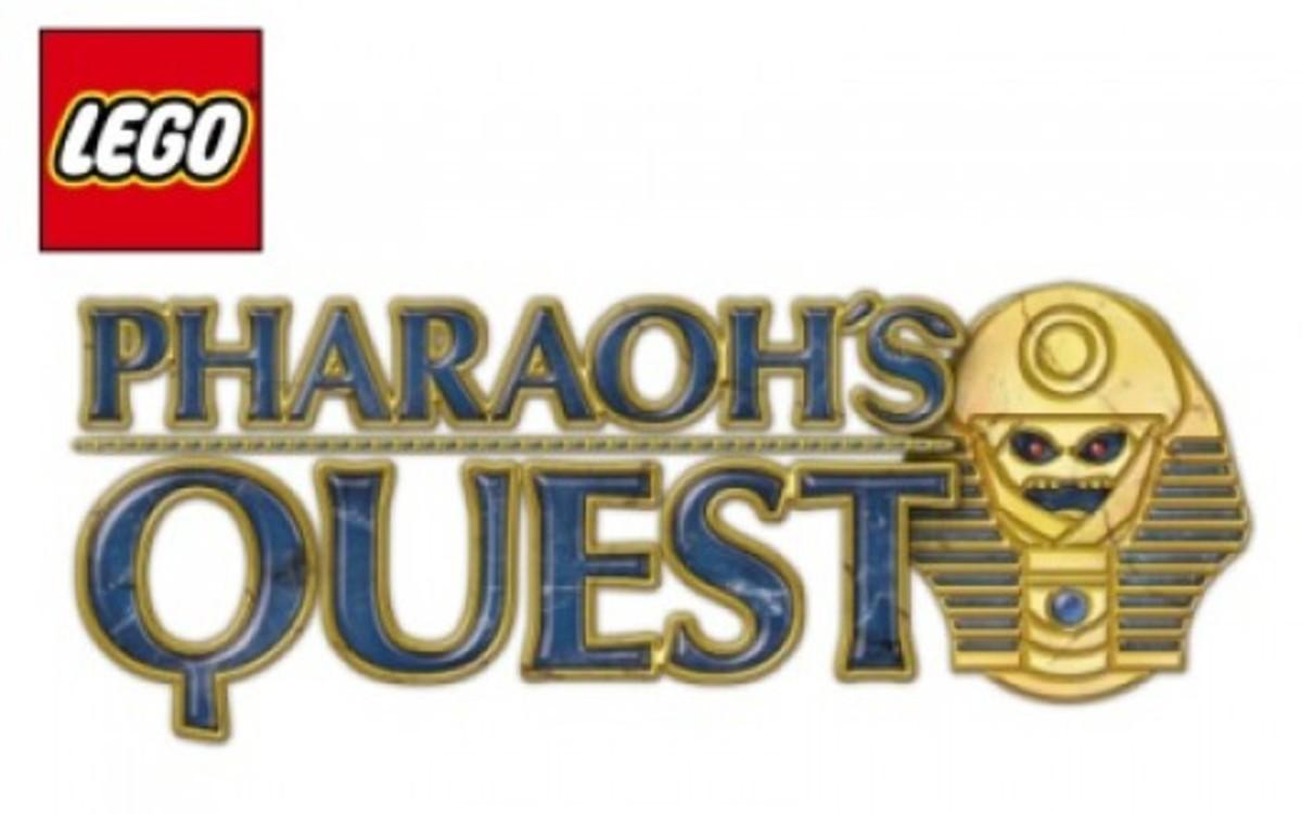 LEGO Pharaoh's Quest Logo