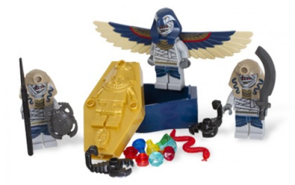LEGO Pharaoh's Quest Skeleton Mummy Battle Pack 853176 Assembled