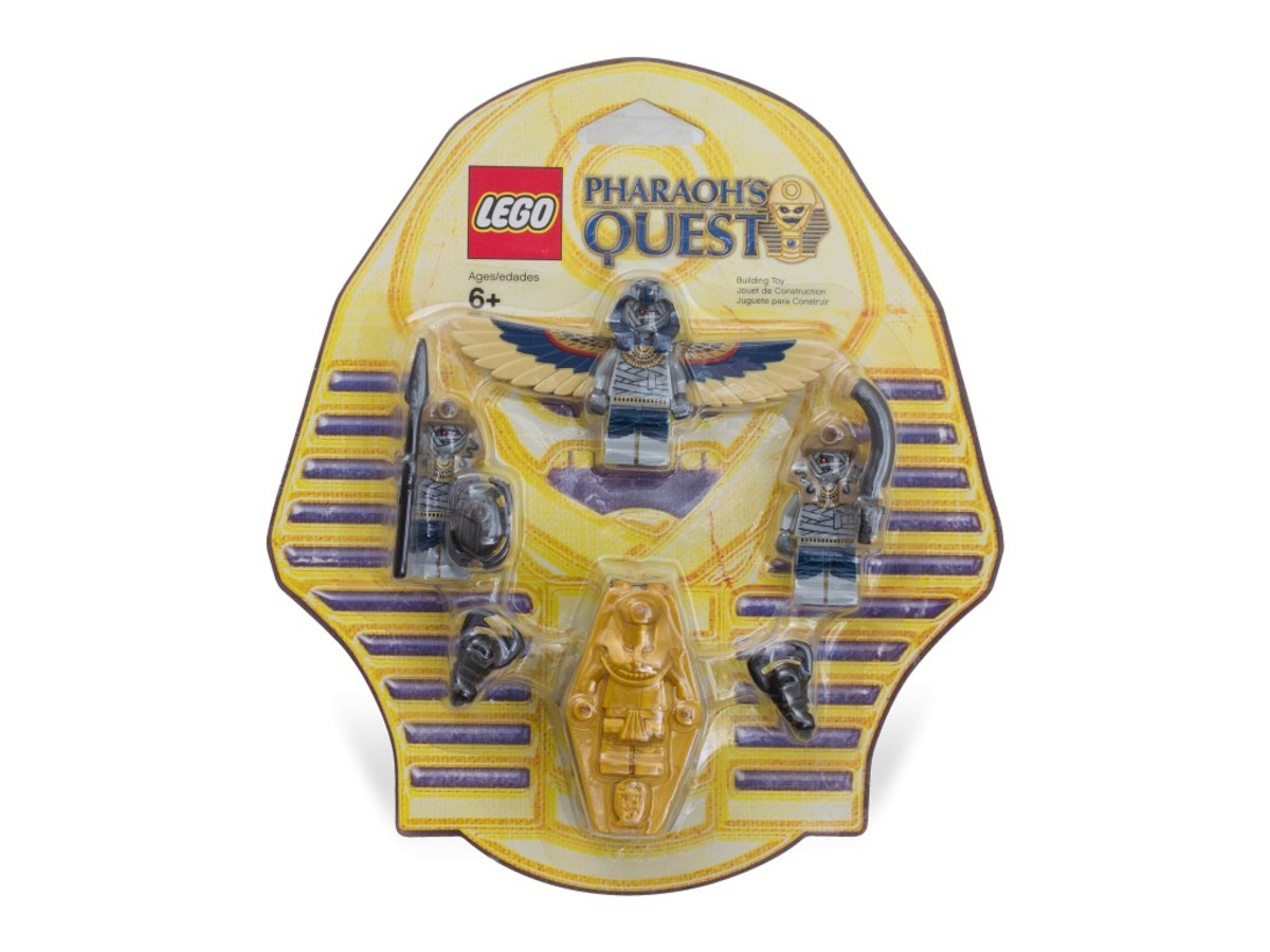 LEGO Pharaoh's Quest Skeleton Mummy Battle Pack 853176 Box