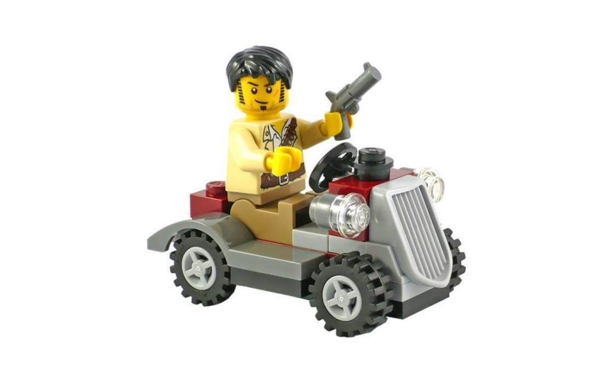LEGO Pharaoh's Quest Desert Rover 30091 Assembled