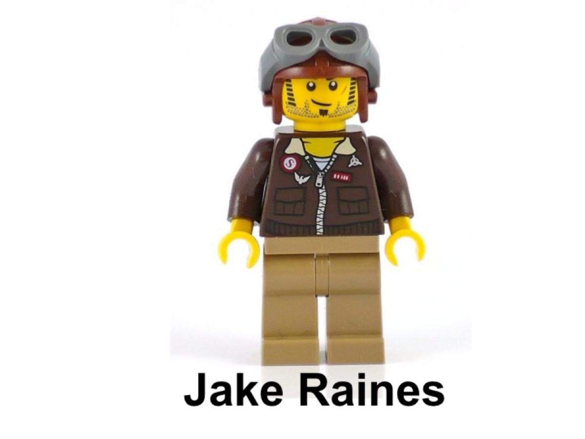LEGO Pharaoh's Quest Desert Glider 30090 Jake Raines Pilot
