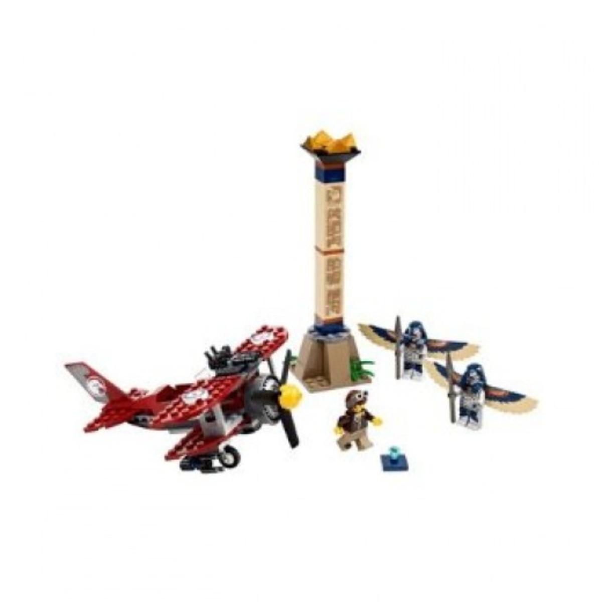 LEGO Pharaoh's Quest Flying Mummy Attack 7303 Assembled