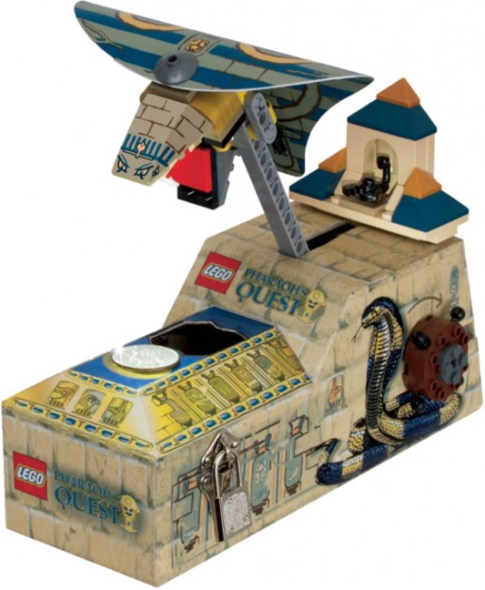 LEGO Pharaoh's Quest Pharaoh's Quest Coin Bank 853175 Assembled
