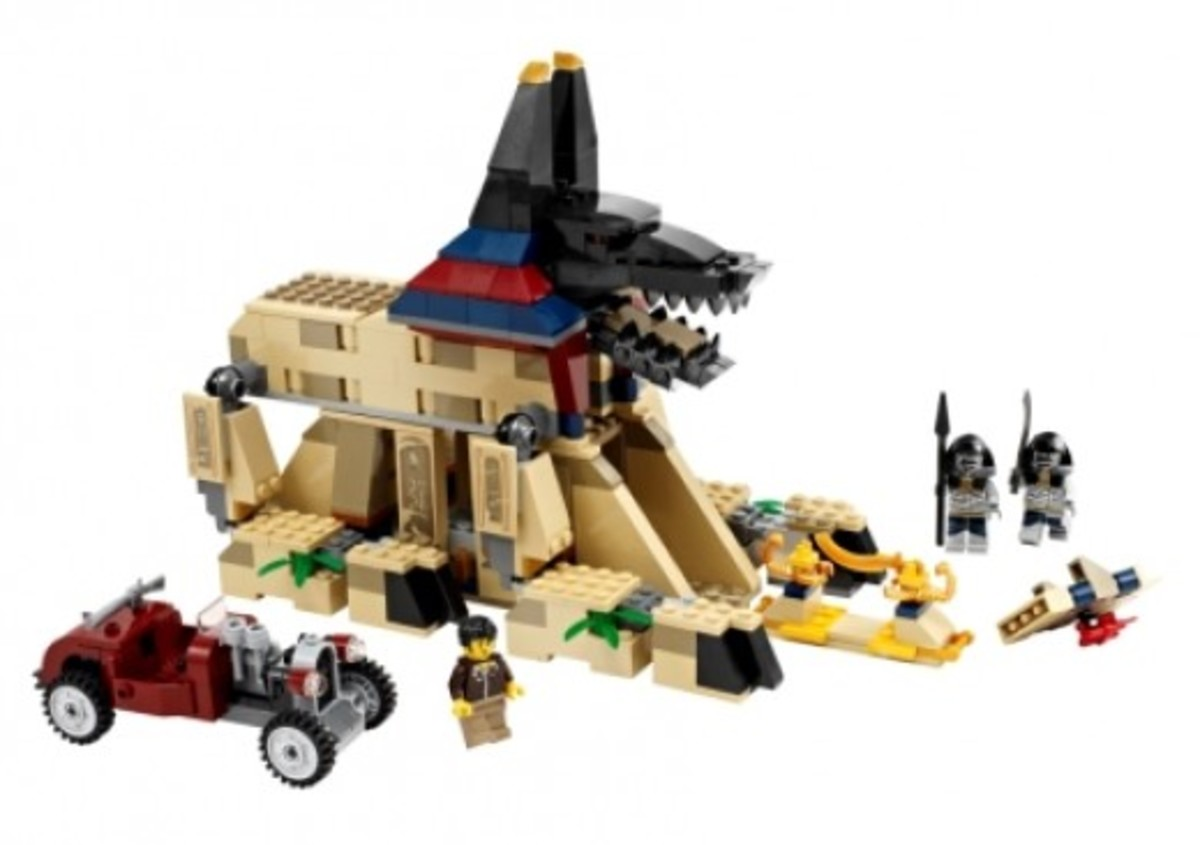 LEGO Pharaoh's Quest Rise Of The Sphinx 7326 Assembled