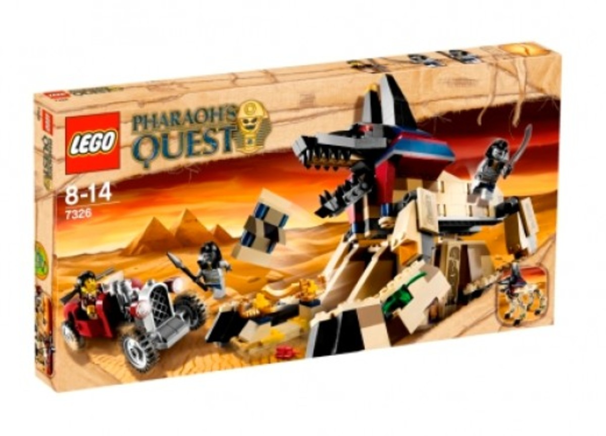 LEGO Pharaoh's Quest Rise Of The Sphinx 7326 Box