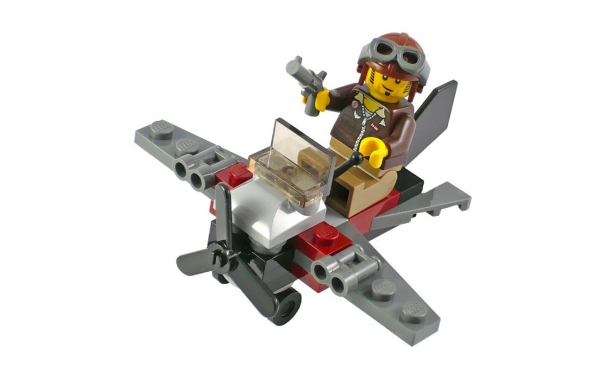 LEGO Pharaoh's Quest Desert Glider 30090 Assembled