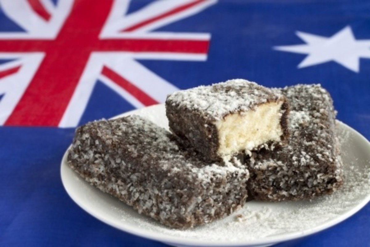 Lamingtons an Aussie favourite