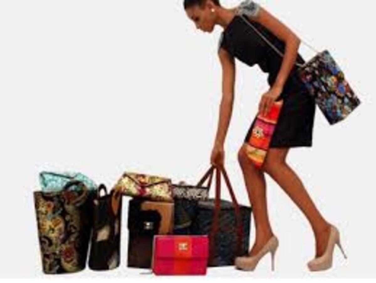Bags, Shoes, Ankara Materials