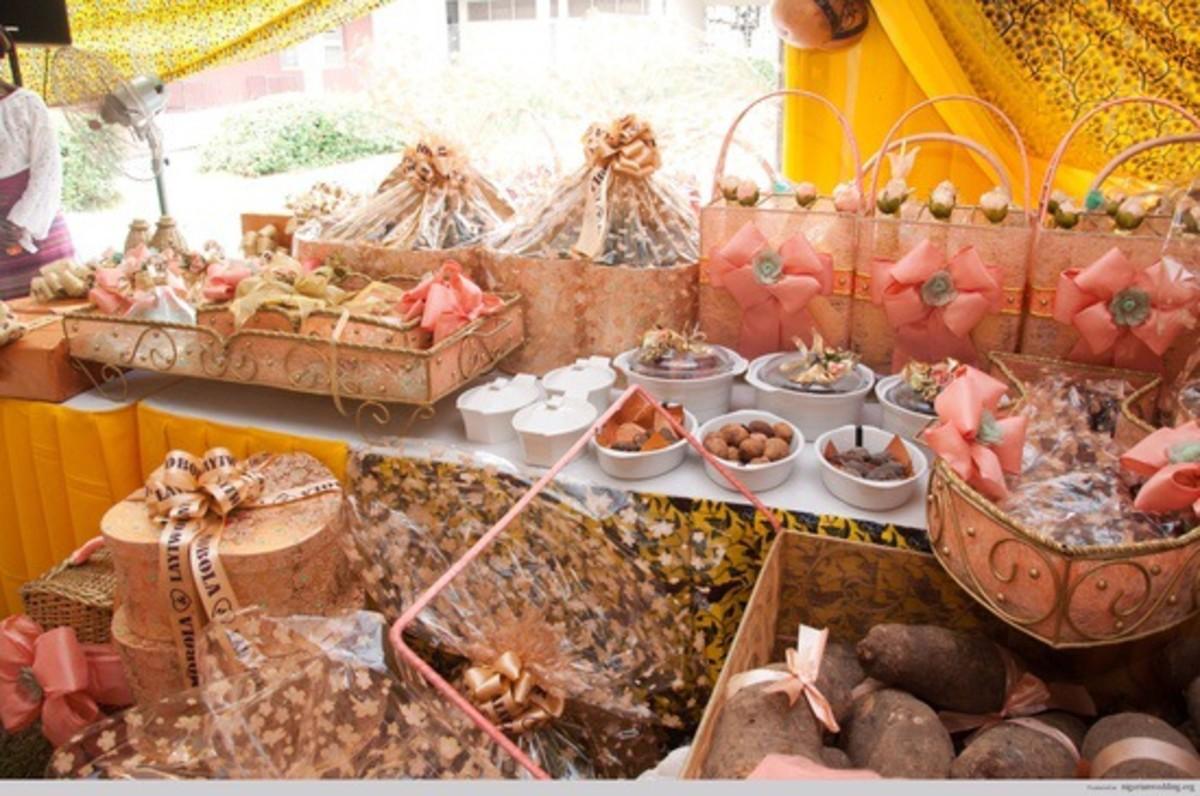 Traditional wedding items