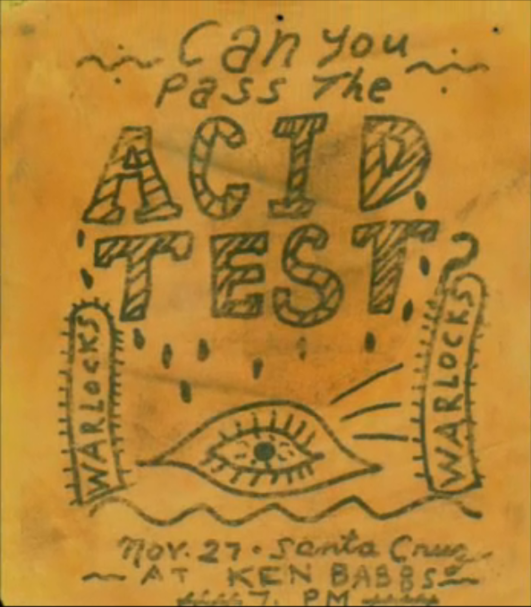 Santa Cruz Acid Test November 27, 1965 at Ken Babbs with the Warlocks