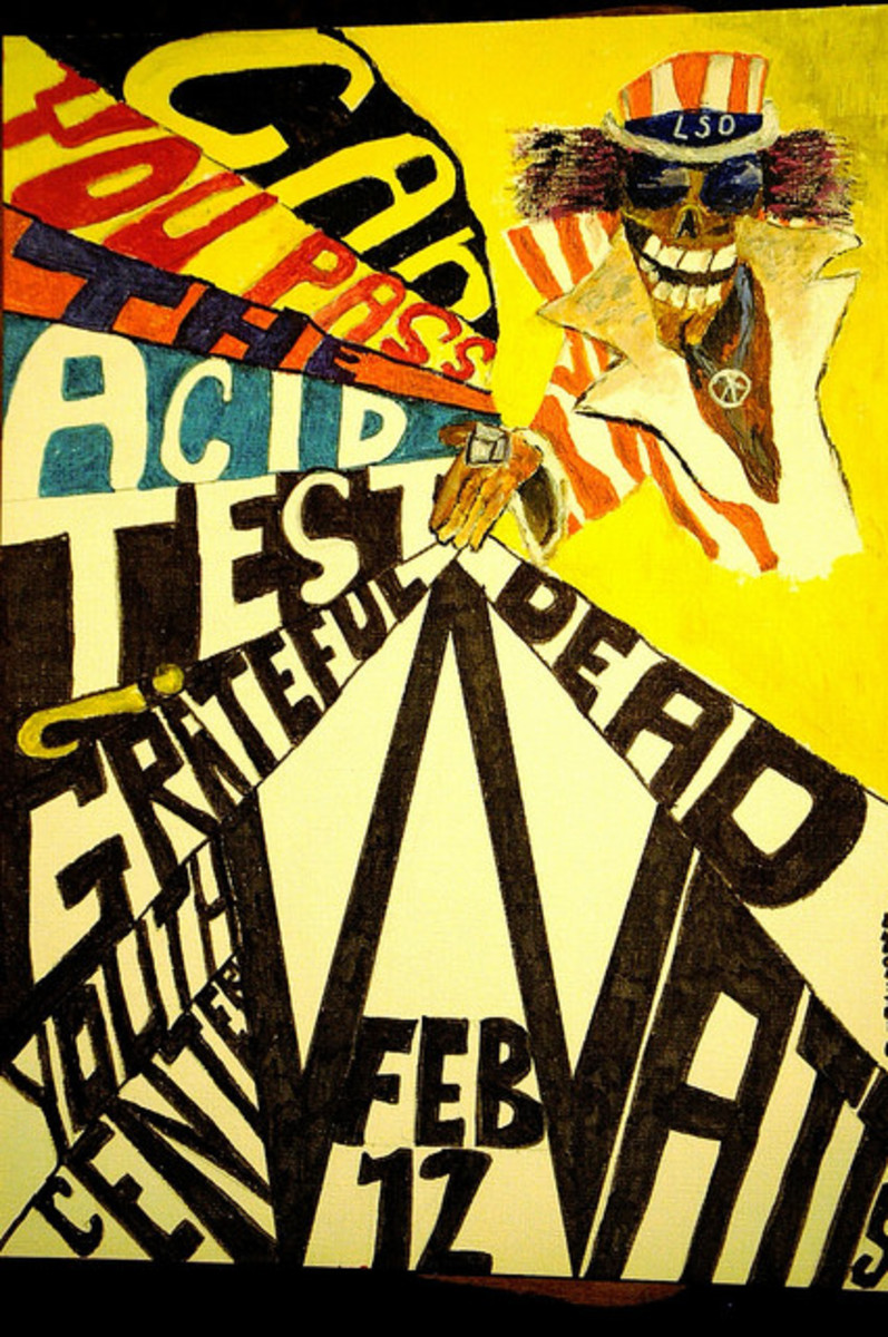 "The Grateful Dead and the Merry Pranksters ""Acid Test"" Youth Opportunities Center Watts CA February 12, 1966"